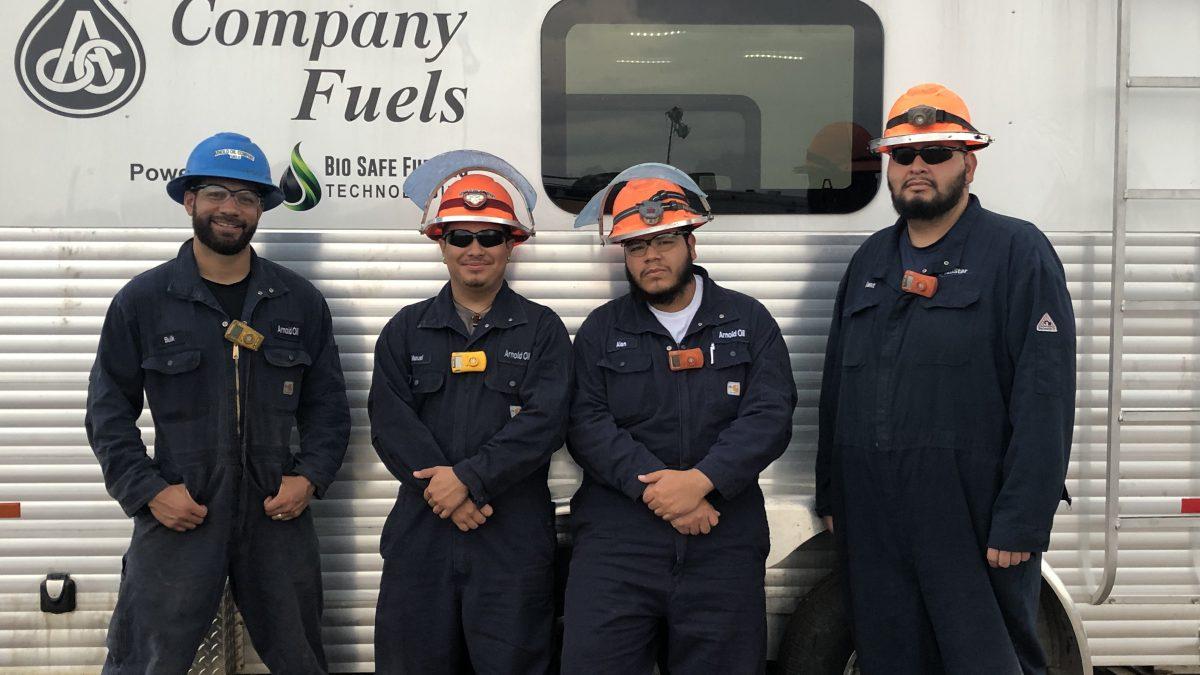 Arnold Oil Fuels Crew