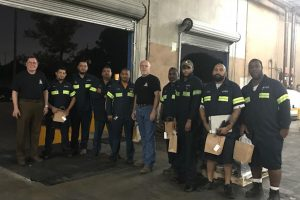A group picture of our Houston location truck drivers.
