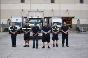 Group Of Arnold Oil Company Truckers