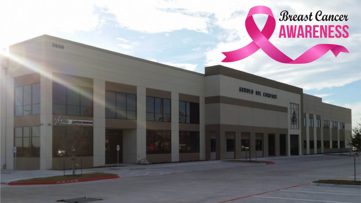 Arnold Oil Company Goes Pink